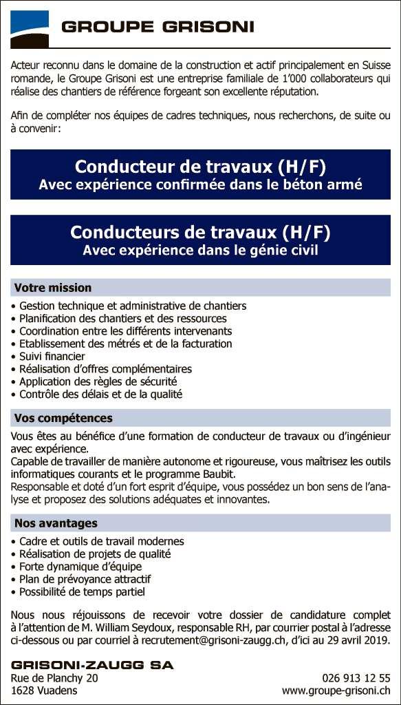 9ca34942ce2 Annonces emploi - La Liberté